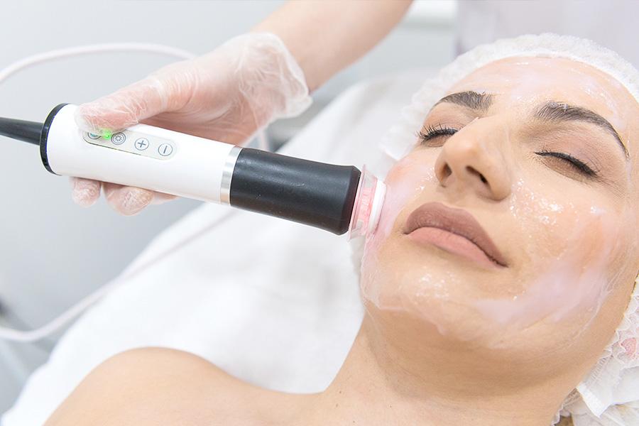 Oxygeneo gezichtsbehandeling