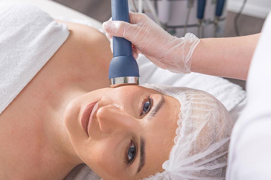 TriPollar gezichtsbehandeling