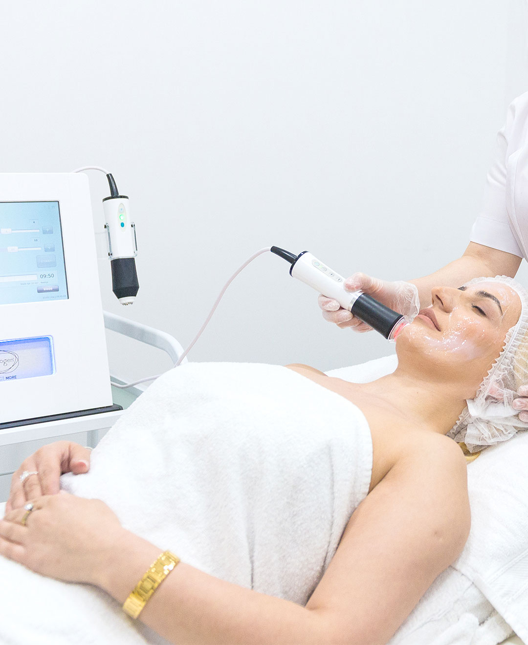 Nina Meschi Oxygeneo gezichtsbehandeling